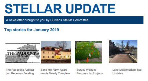 Sand Hill Farm in the Culver Stellar Update – January '19