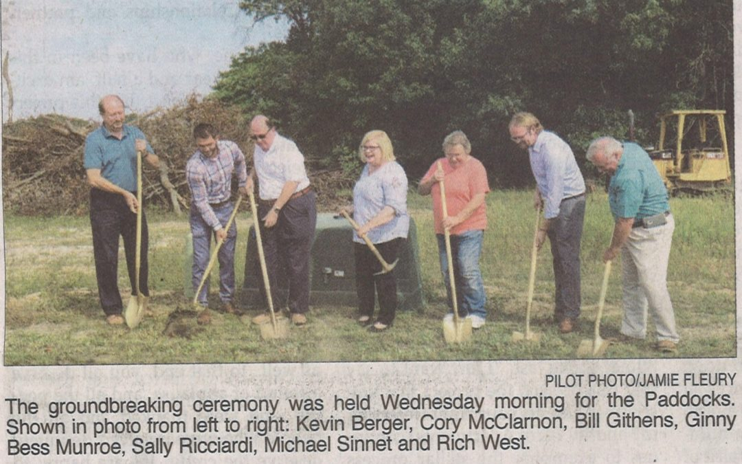 The Paddocks Ground Breaking Ceremony